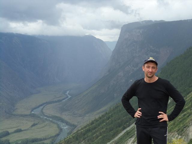 Сергей Гудков, перевал Кату-Ярык